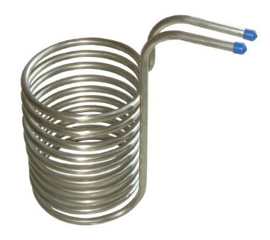 Stainless Steel Immersion Wort Chiller 12mm Diameter
